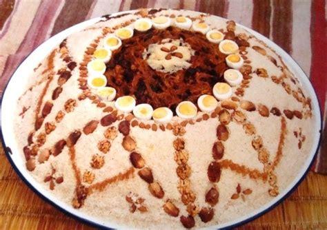cuisine marocaine seffa la seffa plat de mariage au maroc cuisine marocaine