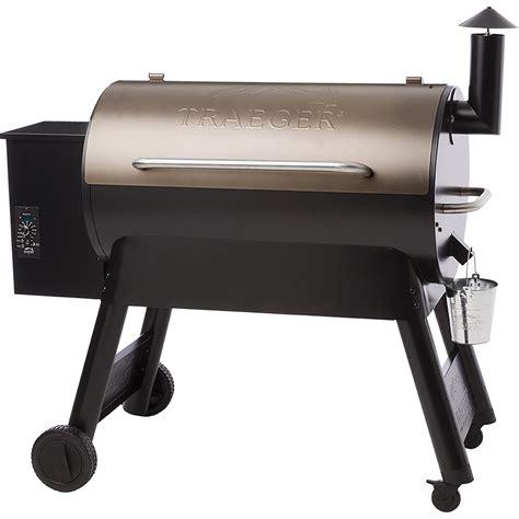 wood pellet smokers traeger bronze pro series 34 wood pellet grill tfb88pzb
