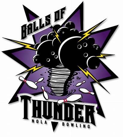 Bowling Logos Thunder Team Shirts Balls League