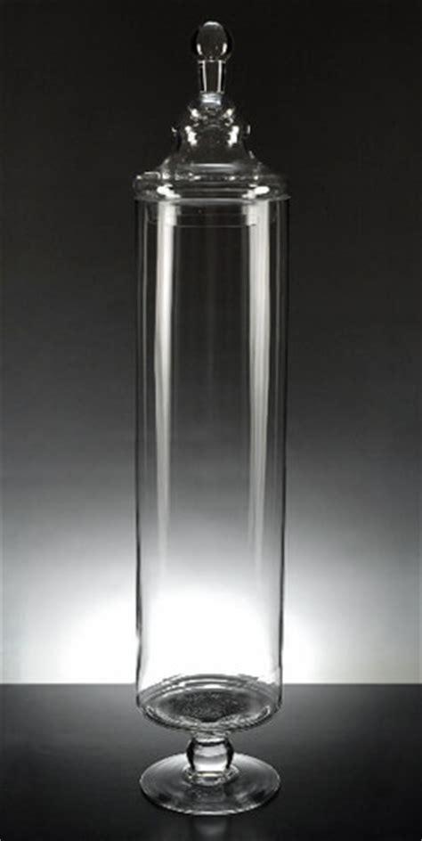 glass apothecary jar