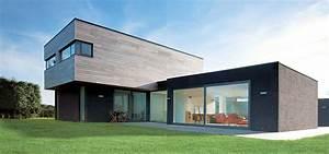 maison architecte bois extension de maison architecte With maison brique et bois