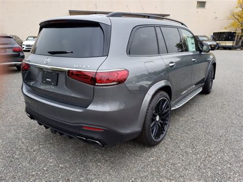 See body style, engine info and more specs. New 2021 Mercedes-Benz AMG GLS 63 4MATIC SUV | Gray T21-279
