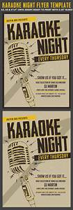 Email Template Word Karaoke Night Flyer Poster Template Flyerstemplates