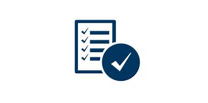 Governance Document Standards Structure Checklist Icon Training