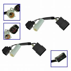 Mirrors Power Heated Upgrade Harness Adapter Lh Rh Pair Set For 00