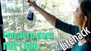 Fensterputzen Ohne Streifen : lifehack fensterputzen mit cola keine streifen mehr auf dem fenster ohne glasreiniger youtube ~ Yasmunasinghe.com Haus und Dekorationen