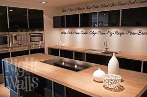 kitchen words border wall decals vinyl art stickers With kitchen colors with white cabinets with hunter s thompson sticker
