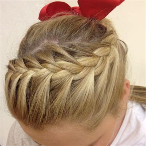 cool cheer hairstyles cheer hair or just a cool pony hair do s cheer hair