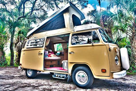 Go Camping Retro-style With Florida's Vw Camper Van