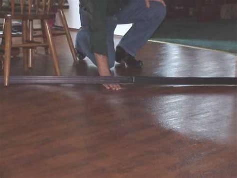 buckled wood floor moisture building america industrialized housing partnership