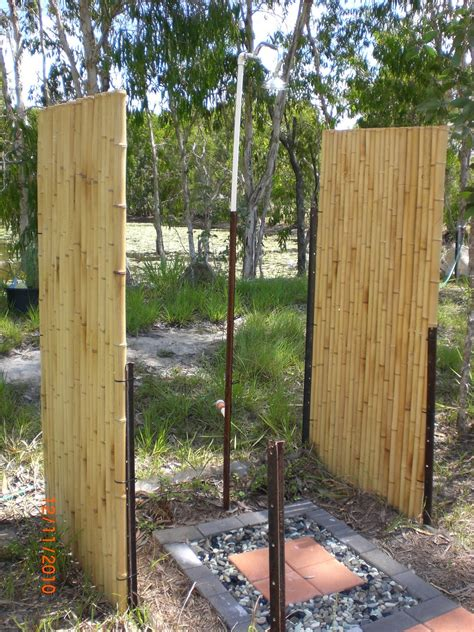 sandflies cyclones and pumpkin outdoor shower