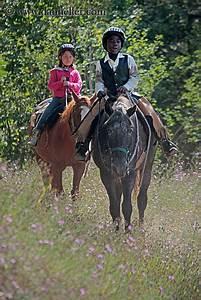 Kids Riding Horses 7