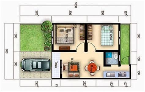 denah rumah minimalis type  terbaru