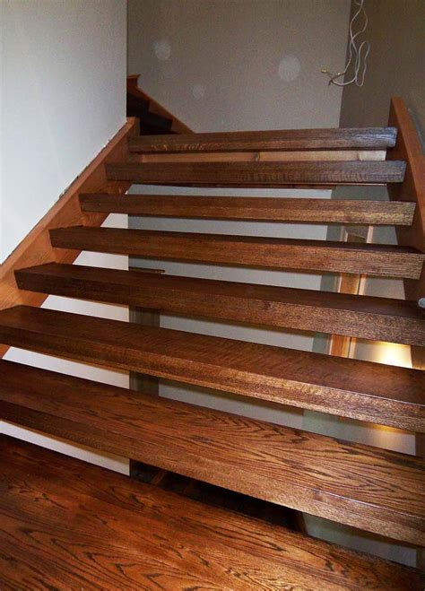rustic staircase design construction artistic stairs