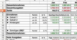 Betriebskostenabrechnung Software Kostenlos : excel haushaltsbuch download giga ~ Michelbontemps.com Haus und Dekorationen