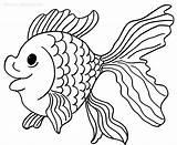 Goldfish Coloring Fish Drawing Bowl Goldfisch Printable Cool2bkids Malvorlagen Zum Animal Drucken Golden Comet Printables Ausmalbilder Outside Sketch Drawings Getdrawings sketch template