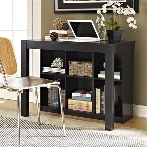 altra parsons desk with drawer black oak altra black oak parsons style desk with drawer and