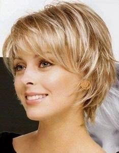 Coupe Mi Courte Femme : coiffure courte femme 50 ans 2018 ~ Nature-et-papiers.com Idées de Décoration