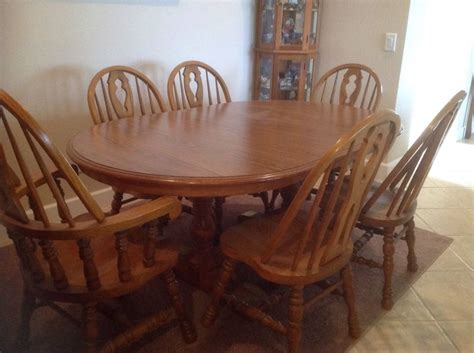 Elegant Oak Kitchen Table And Chairs Ebay  Kitchen Table