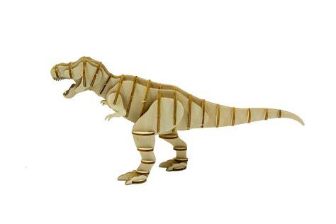 incredibuilds tyrannosaurus rex  wood model book