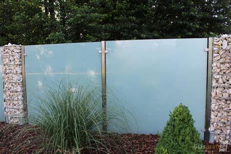 Sichtschutz Garten by Sichtschutz Aus Glas F 252 R Den Garten Glasprofi24