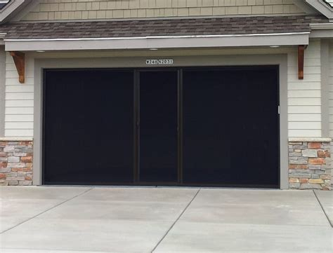 garage screen door garage door screen garage door screens retractable