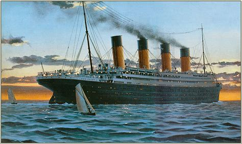 Barco A Vapor Historia by Historia Del Titanic