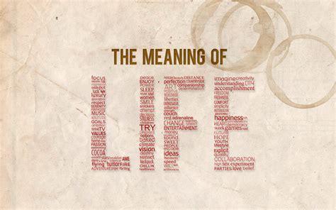 what is the meaning of a what is the meaning of life national broadcasting