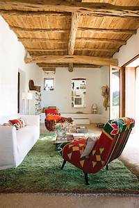 Une Maison Au Style Rustique Boh U00e8me  U00e0 Ibiza