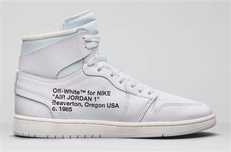 Disappear Here Nike Off White Air Jordan 1 All White