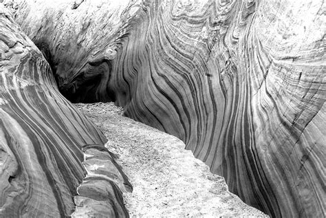 Grayscale Photography Of Antelope Canyon · Free Stock Photo