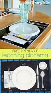 Free Printable Teaching Placemat