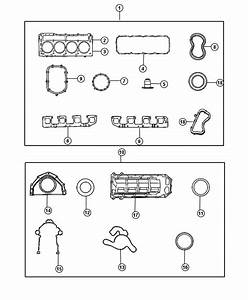 Dodge Challenger Gasket Kit  Gasket Package  Engine