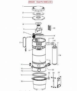 Electrolux Pu3900 006228 Central Vac Parts