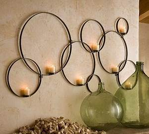 circles wall mount votive holder pottery barn With kitchen colors with white cabinets with wall mounted votive candle holder