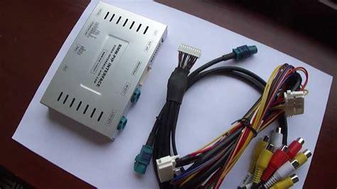 bmw cic pip video multimedia interface