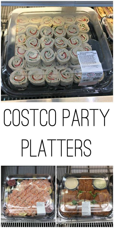 order  party platter  costco costco party