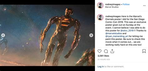 First Look At Marvel's The Eternals With Amazing Concept ...