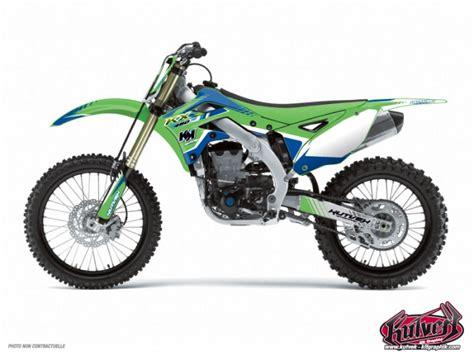 kit d 233 co moto cross pulsar kawasaki 85 kx bleu kutvek kit graphik