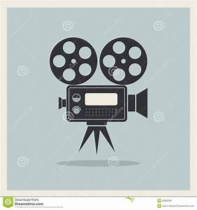 Video Movie Camera On Retro Background Stock Images ...