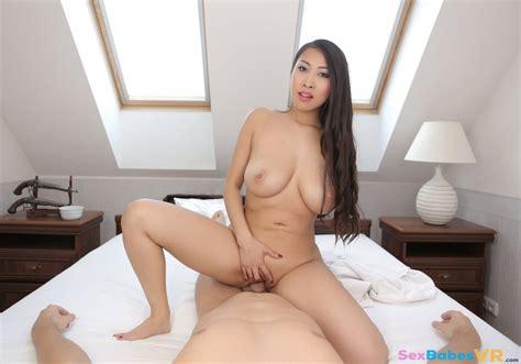 Asian Massage – Busty Sharon Lee Virtual Reality