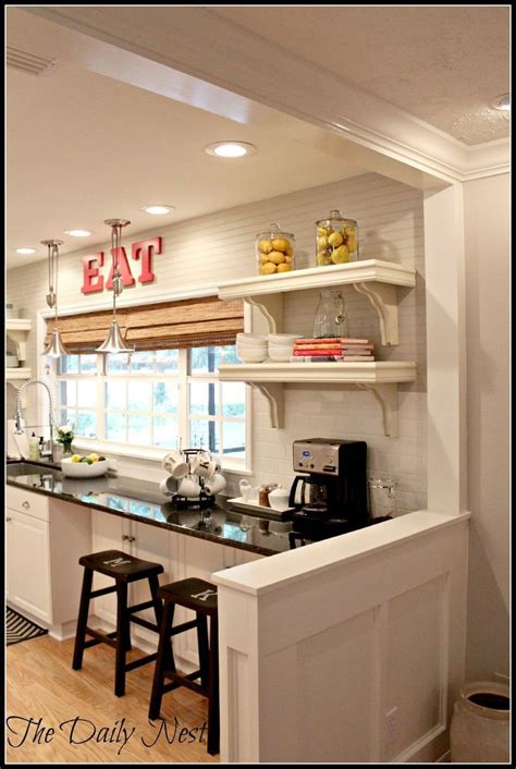 lightened  home reveal farmhouse style kitchen