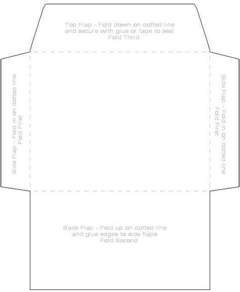 envelope template     pinterest