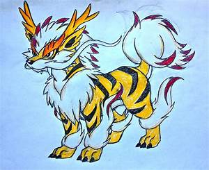 Project Fakemon: Mega Arcanine (colored) by XXD17 on ...