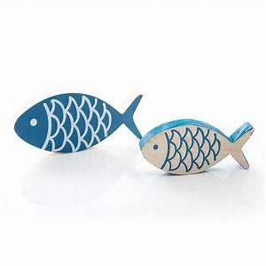 Fische Aus Holz : 2 fische paar aus holz zur dekoration kommunion hochzeit taufe 13 x 6 cm und 10 x 5 cm ~ Buech-reservation.com Haus und Dekorationen