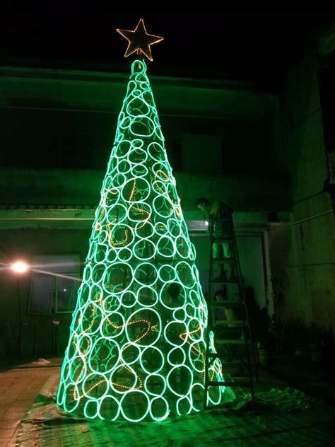 led cone christmas treeartificial christmas tree