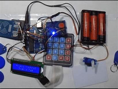 Based Rfid Control System Keypad Arduino Access