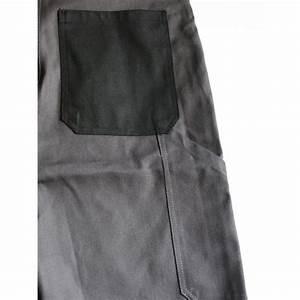 Cotte De Travail : cotte de travail bretelles gris et noir ~ Edinachiropracticcenter.com Idées de Décoration