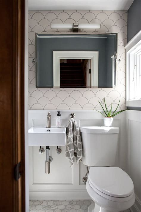 Bathroom Ideas Small Room by 3 Small Bathroom Ideas Using Moroccan Fish Scales
