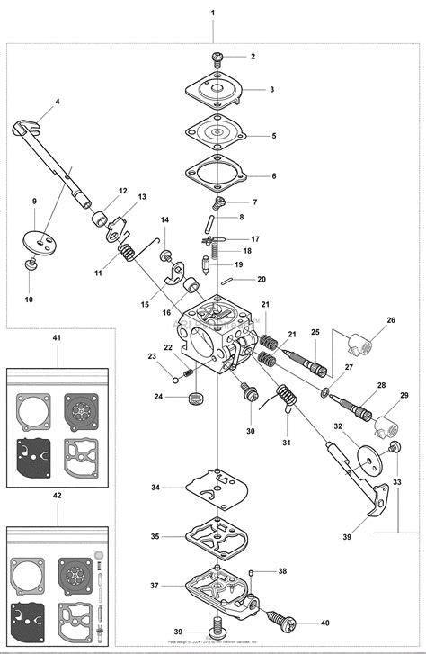 Husqvarna 327 P5 X (200803) Parts Diagram For Carb Parts